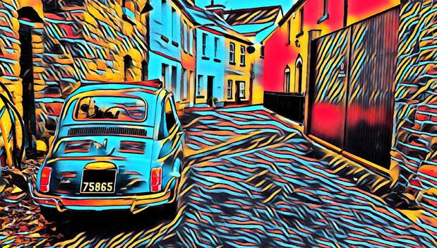 John Street, Killaloe, Co. Clare - FIAT 500