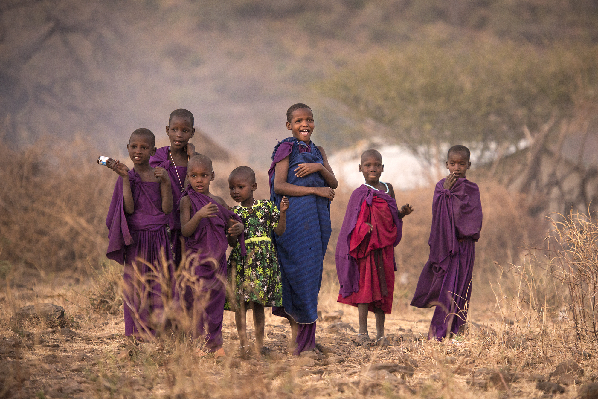 Maasai Tribe -- Little Goddesses
