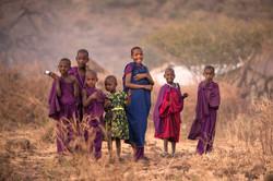 Maasai Tribe -- Little Goddesses