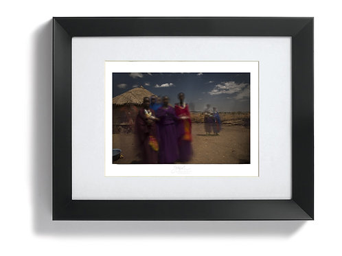 """Maasai Women"" (Limited Edition of 15)"