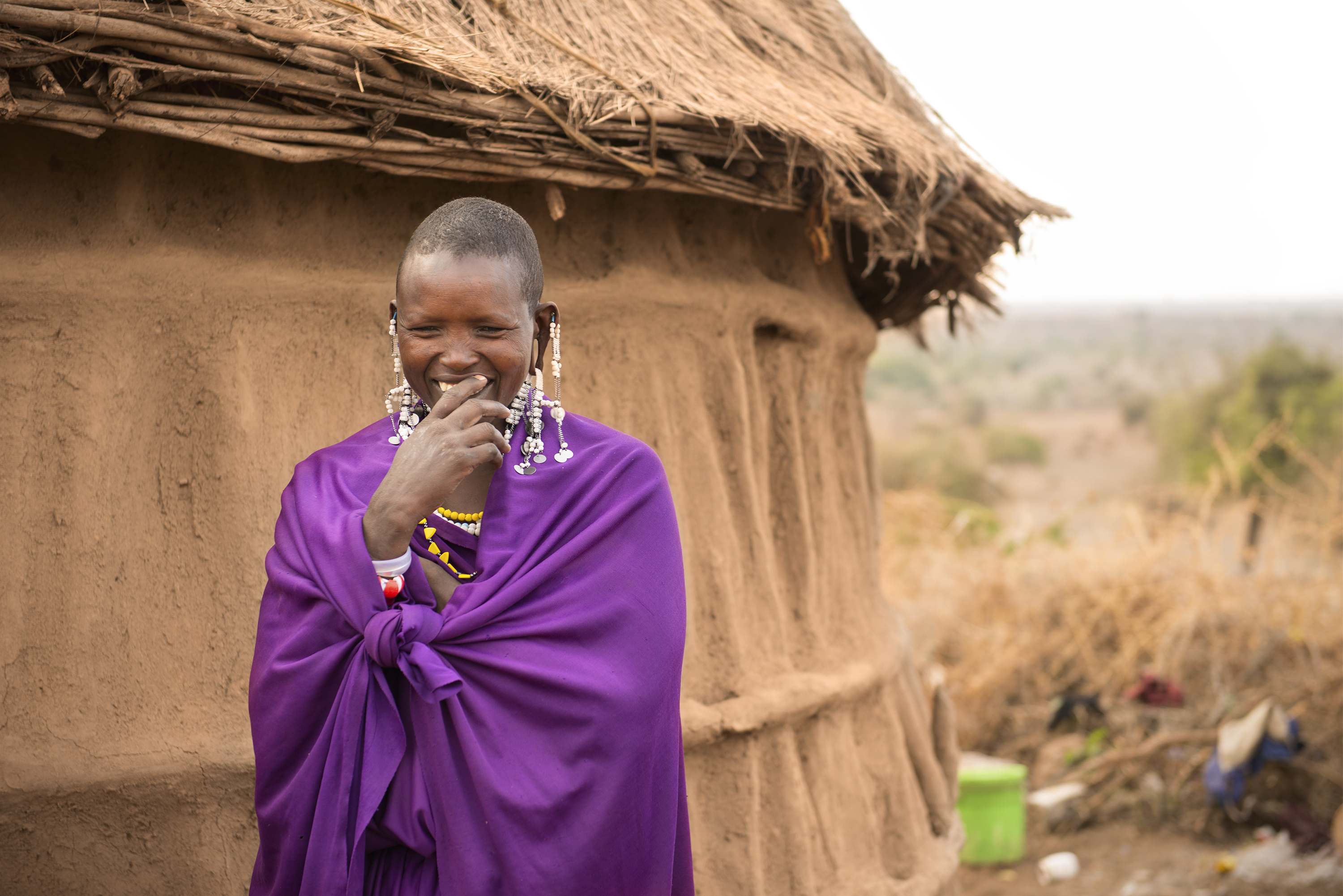 Maasai Tribe -- Laughter
