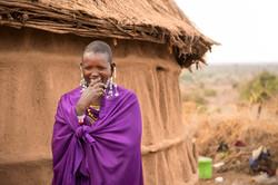 Maasai Tribe -- Laughter
