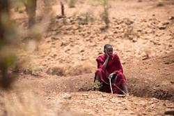 Maasai Tribe -- Contemplation