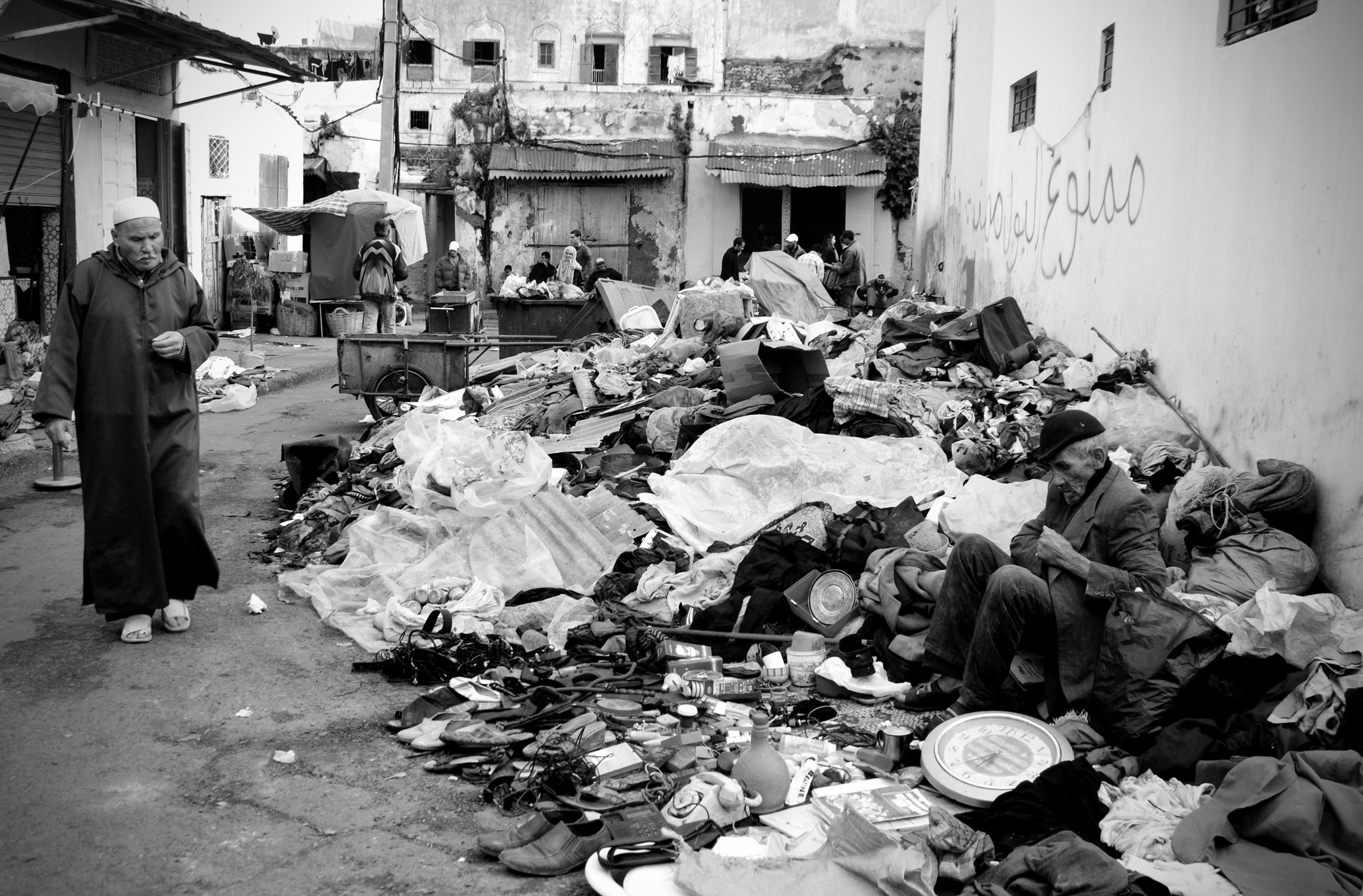 FLEA MARKET Rabat, Morocco