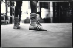 FANCY FOOTWORK Gleason's Gym, NY