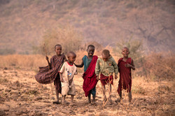 Maasai Tribe -- Little Warriors