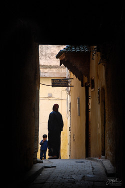 IN THE ALLEYWAY Fez, Morocco