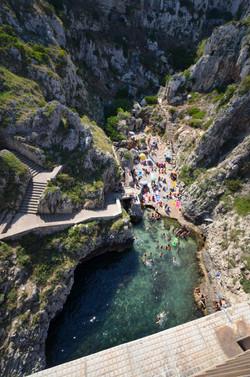 LEAP OF FAITH Ponte Ciolo, Puglia, I