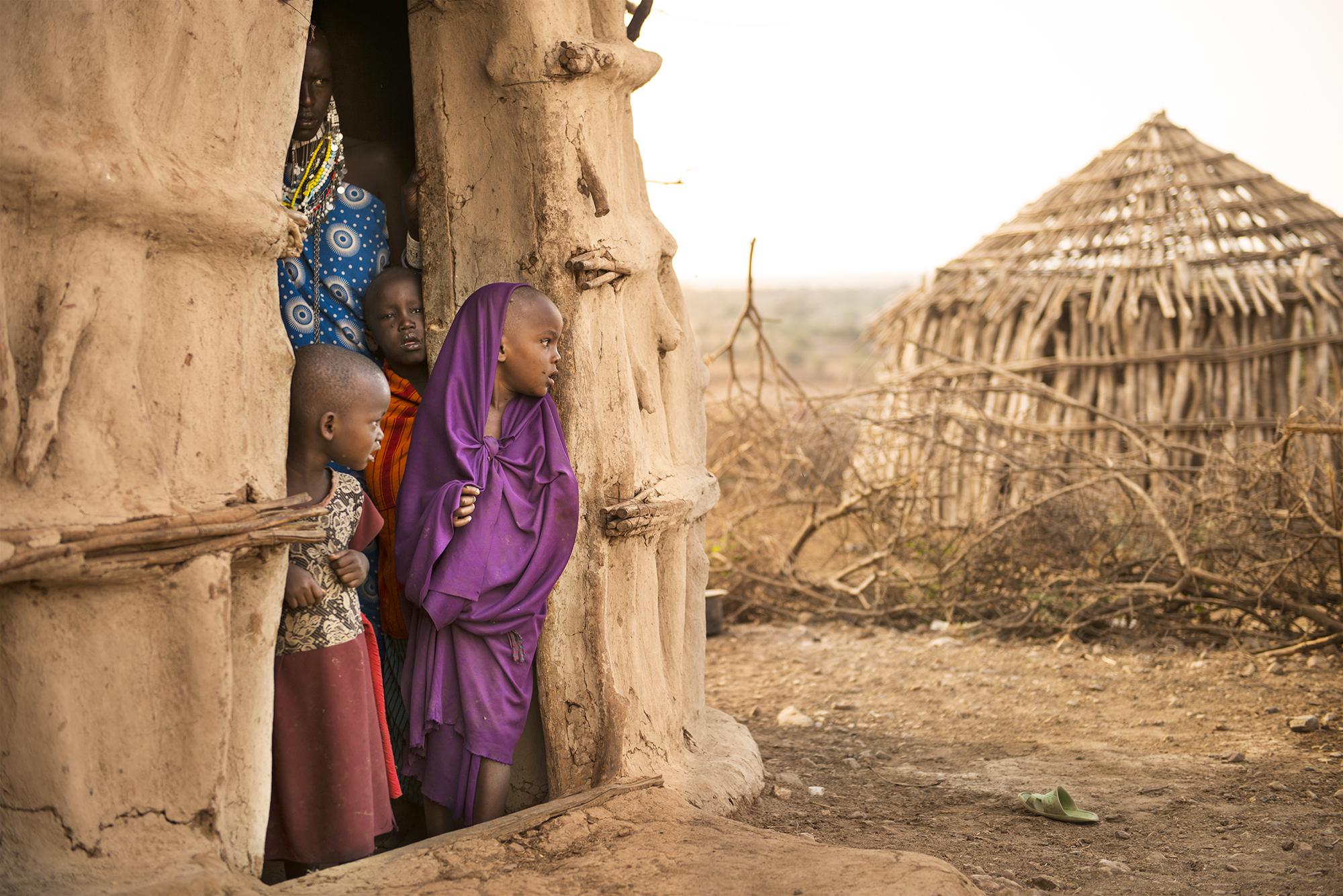 Maasai Tribe, Tanzania, Africa