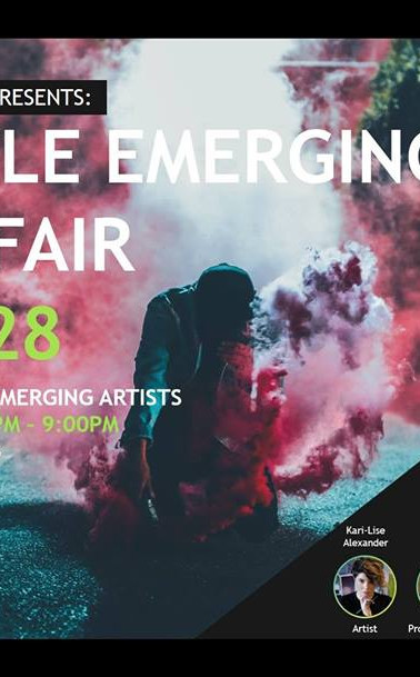 Seattle Emerging Arts Fair: July 2018