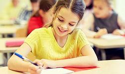 education, elementary school, learning a