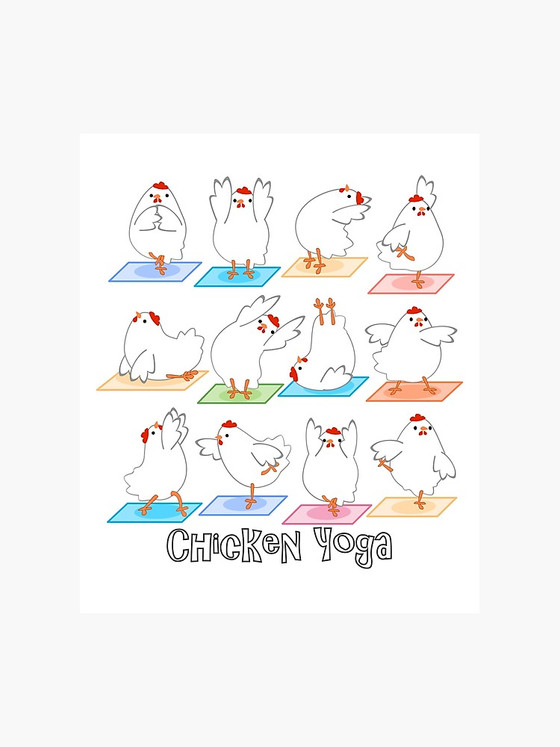 Workout Wednesday: Chicken Yoga?