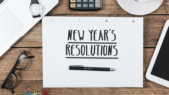 Motivational Monday: New Year's Resolutions