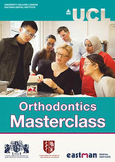 UCL-CBMDA 2018 Othodontics MasterClass C