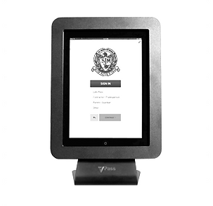 visitor registration via iPad