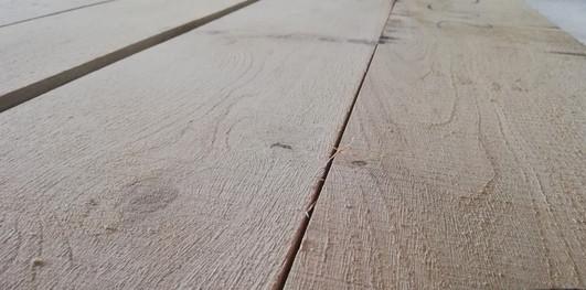 oak edged timber