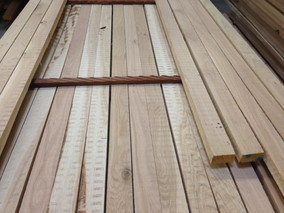 long strips - rawmaterial for parquet production