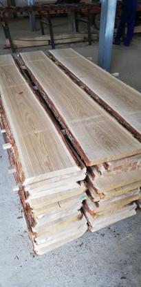 oak unedged timber