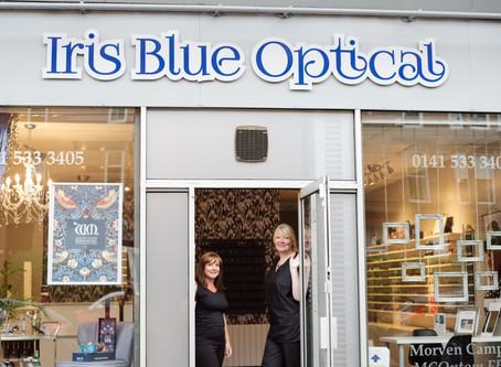 Glasgow Small Biz Stories: Iris Blue Optical