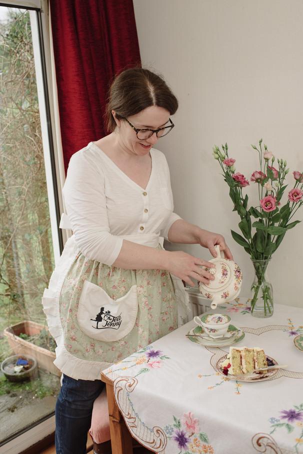 Tea Jenny brand photographer Helensburgh