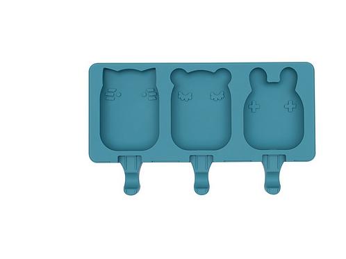 Moule à glace animaux - Bleu canard