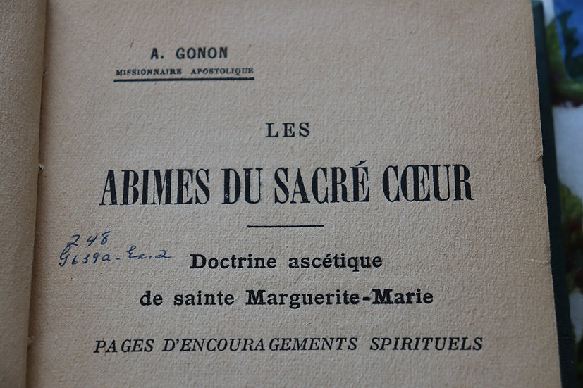 Les abîmes du Sacré Cœur - Doctrine ascétique de sainte Marguerite-Marie