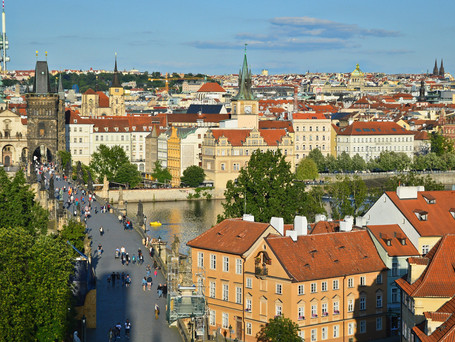 Number of tourists in Czechia halved in 2020