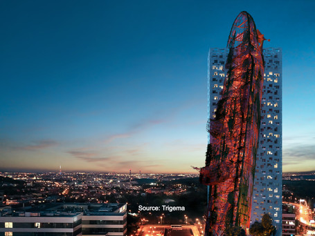 The next tallest building in Czechia