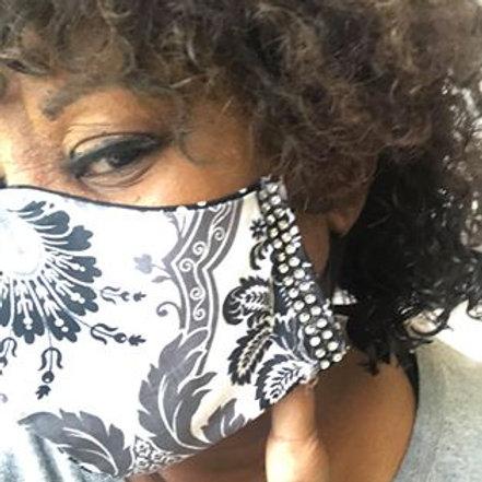 Elegant Blingy Jazzy Mask