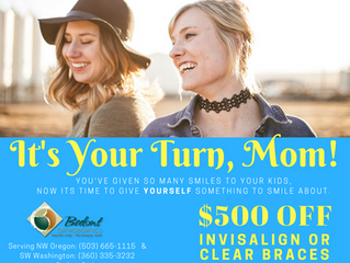 Back To School Special: $500 Off Invisalign or Clear Braces. Wow!