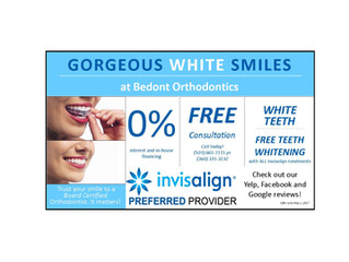 FREE Teeth Whitening With Invisalign