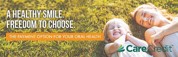 Bedont Orthodontics accepts Care Credit