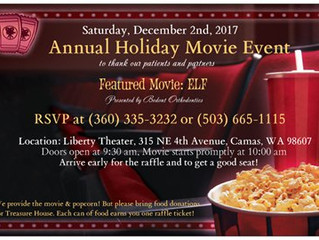 Annual Holiday Appreciation Event!    RSVP by calling (360) 335-3232 or (503) 665-1115.