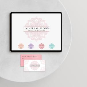 Universal Bloom Visual Branding
