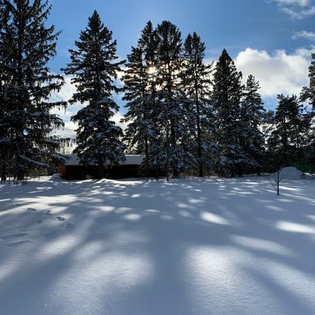 Winter wonderland at the farmette