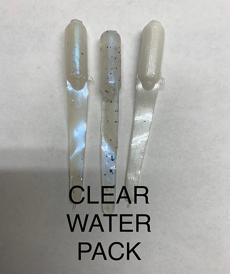 CLEAR WATER PACK - 24 OF EACH COLOR