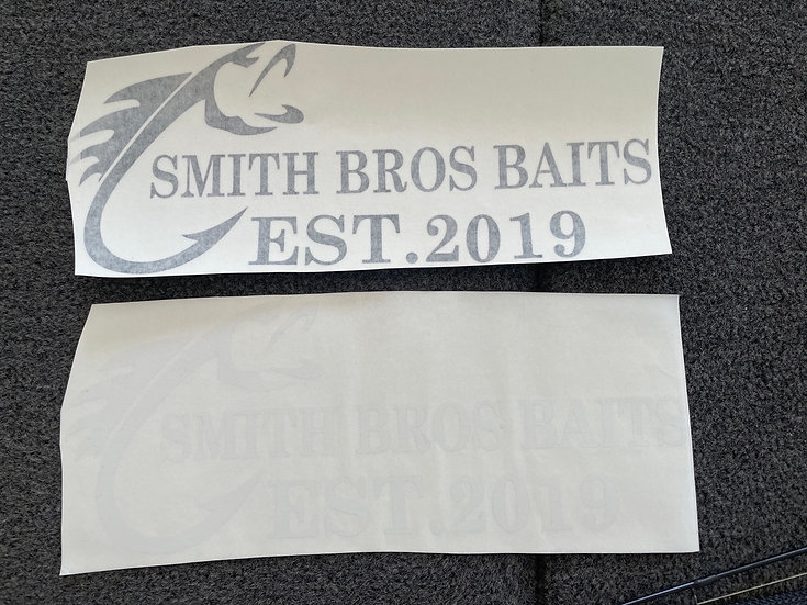 Smith Bros Baits Large Decal