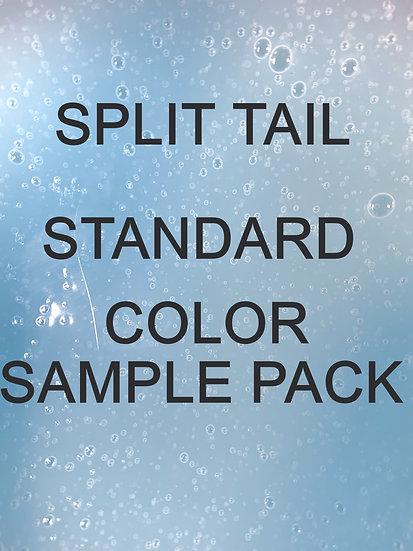 SPLIT TAIL STANDARD COLOR SAMPLE PACK OF 45