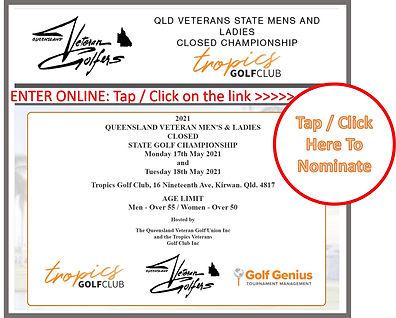 QLD Veterans State Mens and Ladies Close