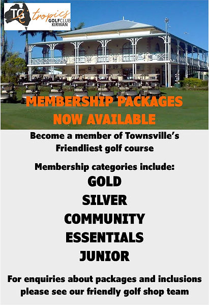 Tropics Golf Club - Membership Packages