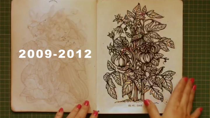 Sketchbook 2009-2012
