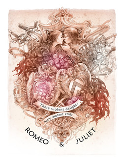 Shakespeare calendar. Romeo&Juliet