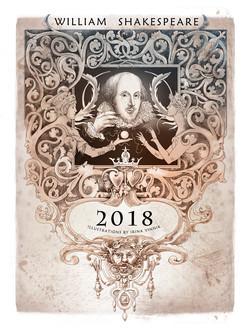 Shakespeare calendar / Cover