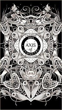 Calendar by Irina Vinnik. Axis of Symmetry 2015