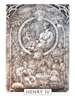 Shakespeare calendar.Henry IV