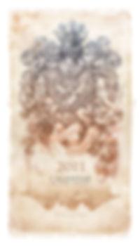 Calendar by Irina Vinnik. Sauriance Renaissance. 2011
