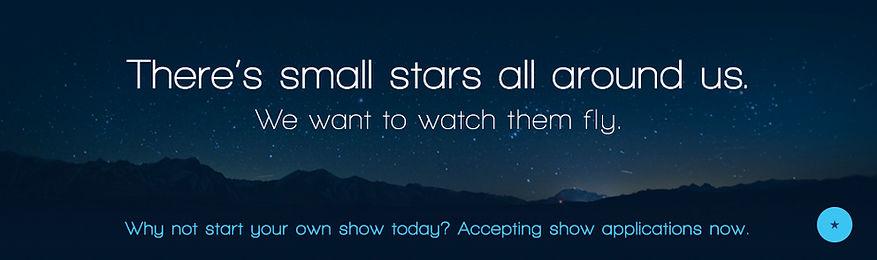 SmallStarsAllAroundUs-WideBannerAdvert.j