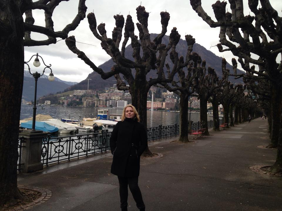 In Lugano, Switzerland