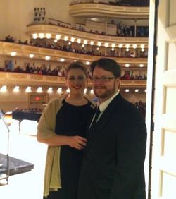 Stern Auditorium Recital
