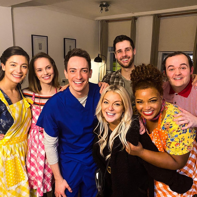 Waitress - Backstage with Sheridan Smith
